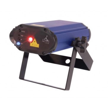 EZMIN LASER RBX BLUE AND RED MULTI POINT LASER CHAUVET DJ