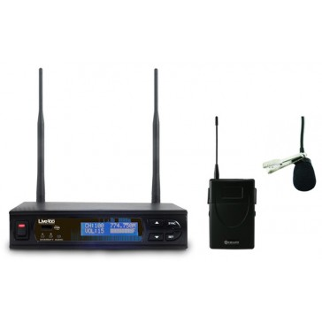 Receiver and Lapel Chiayo LIVE-100 Series-Wireless