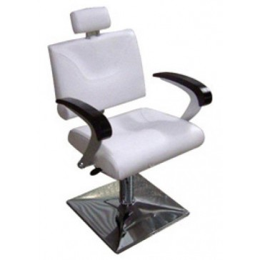 Reclining Salon Chair (Makeup Chair) Without Footrest