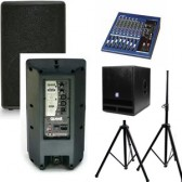 $240 Small Party Audio System with Sub