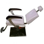 Reclining Salon Chair (Makeup Chair) With Footrest