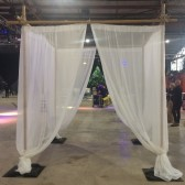 3m Bamboo/Draping freestanding structure - Hire