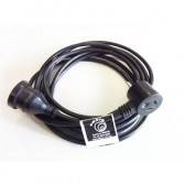 3 Metre 240 Volt Piggy Back Power Lead - Hire