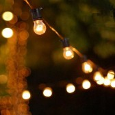 Festoon Party Lights 20m Hire