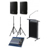 $288 Lectern Audio Package Small Hire
