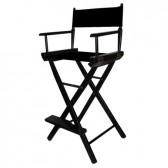 Tall Black Director's Chair