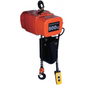 Electric Chain Hoist 500kg 15m Lift - Hire