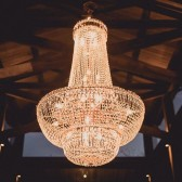 Chandelier Installation Golden Basket Hire