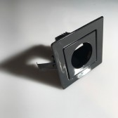 Black Square Downlight