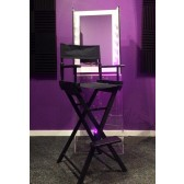 make up mirror and director chair hire