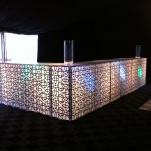 Moroccan Bar With Lights