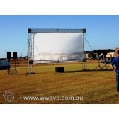 Outdoor Cinema Screen - HIRE