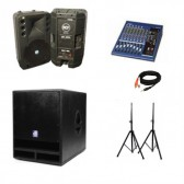 RCF speaker package hire
