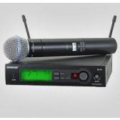 Shure SLX BETA 58A Wireless / Radio Microphone Hire