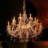 Chandelier-Timeless Crystal 18arm - Hire