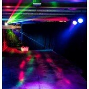 Lighting Party Pack and Hazer (80-150 people)