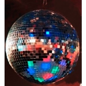 Mirror Ball Light Smoke machine-Party Pack (50-80 people)