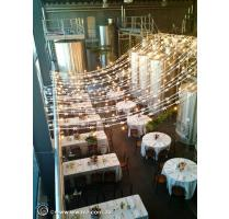 Festoon lighting bunting hire