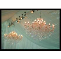Draping Chandeliers