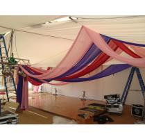 Moroccan Party draping set up